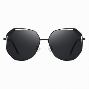 black octagon sunglasses