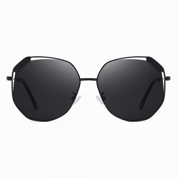 black octagon sunglasses