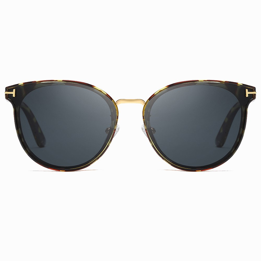 Tortoise Round Sunglasses for Women