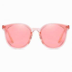 Pink Round Sunshade for Men Women