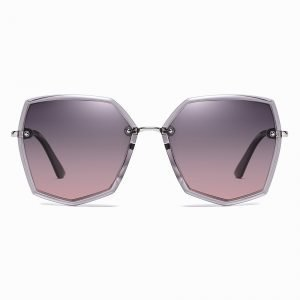 Purple Gradient Sunshade for Women