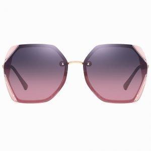 purple gradient sunglasses square shape
