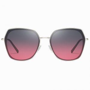 Purple Gradient Square Sunglasses