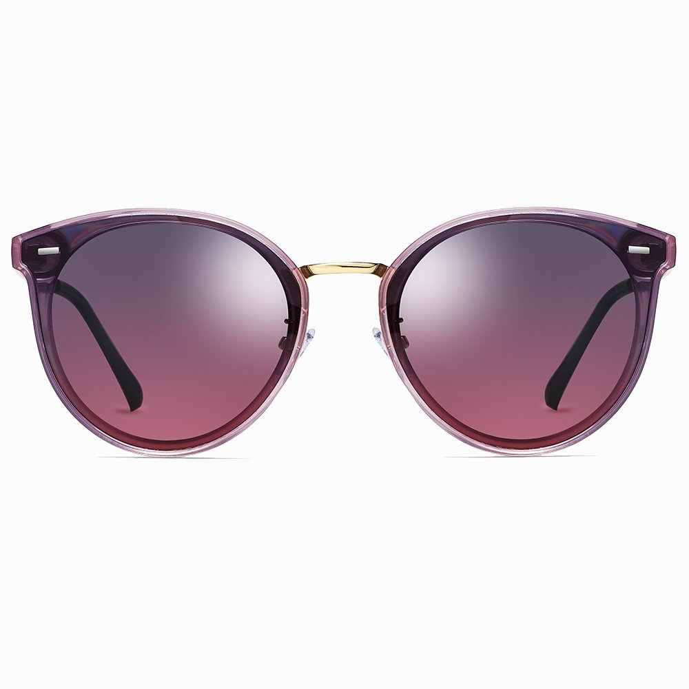 Purple Gradient Sunglasses for Women