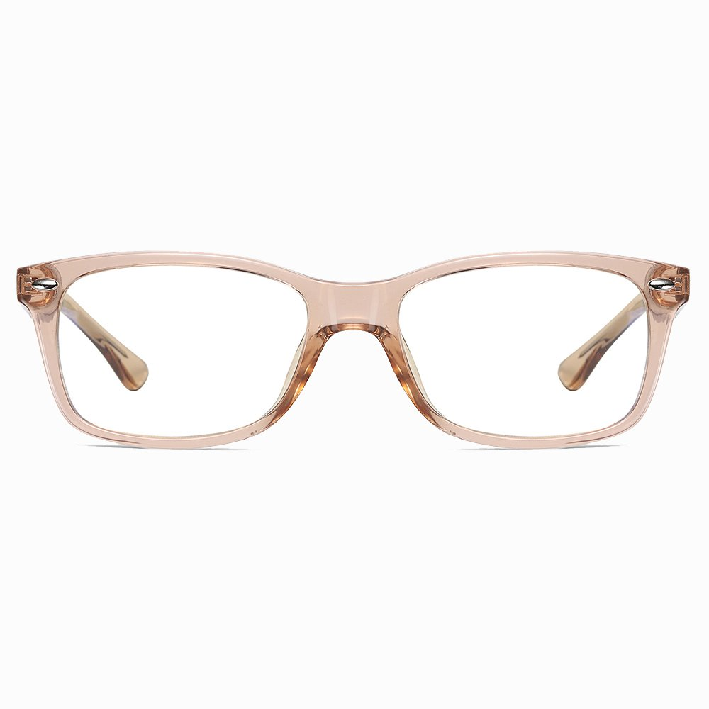 Champagne Rectangle Eyeglasses