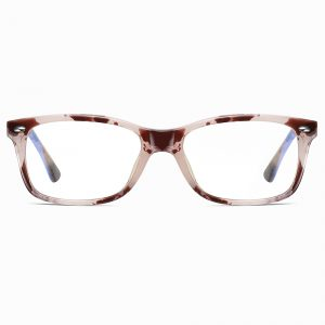 Floral Rectangle Eyeglasses