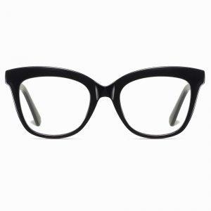Black Square Cat Eye Glasses