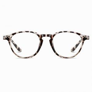 Ivory Tortoise Round Eyeglasses
