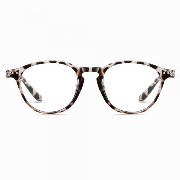 ivory tortoise round eyeglasses for women oval face shape