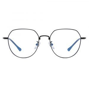 black round eyeglasses for women