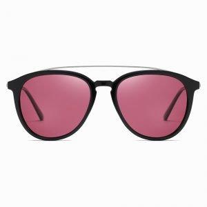 Purple Circle Sunglasses for Men