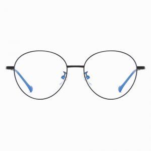 Black Round Wire Frame Glasses