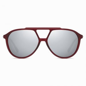 Double Bridge Round Sunglasses for Men Women