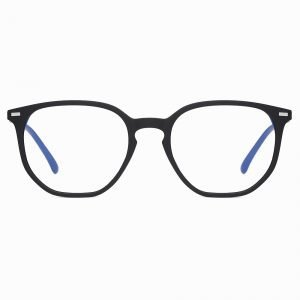Black Thin Frame Eyeglasses