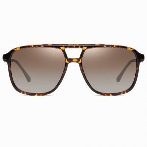 oversized square sunglasses with tortoise frame