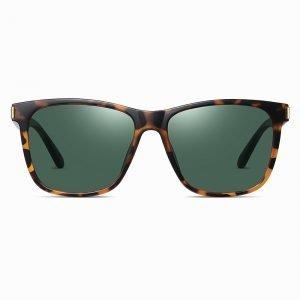 Green Tortoise Men Sunnies SquareShape