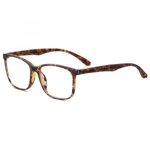 tortoise frame rectangle eyeglasses for men