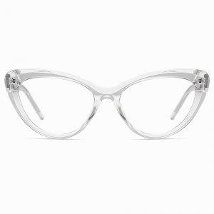 Transparent Cat Eye Glasses