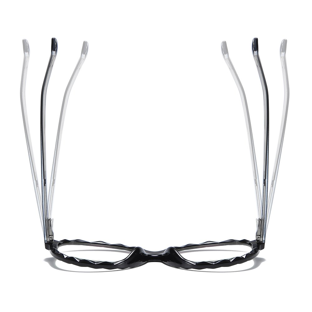 vintagle round eyeglasses with adjustable temple arms