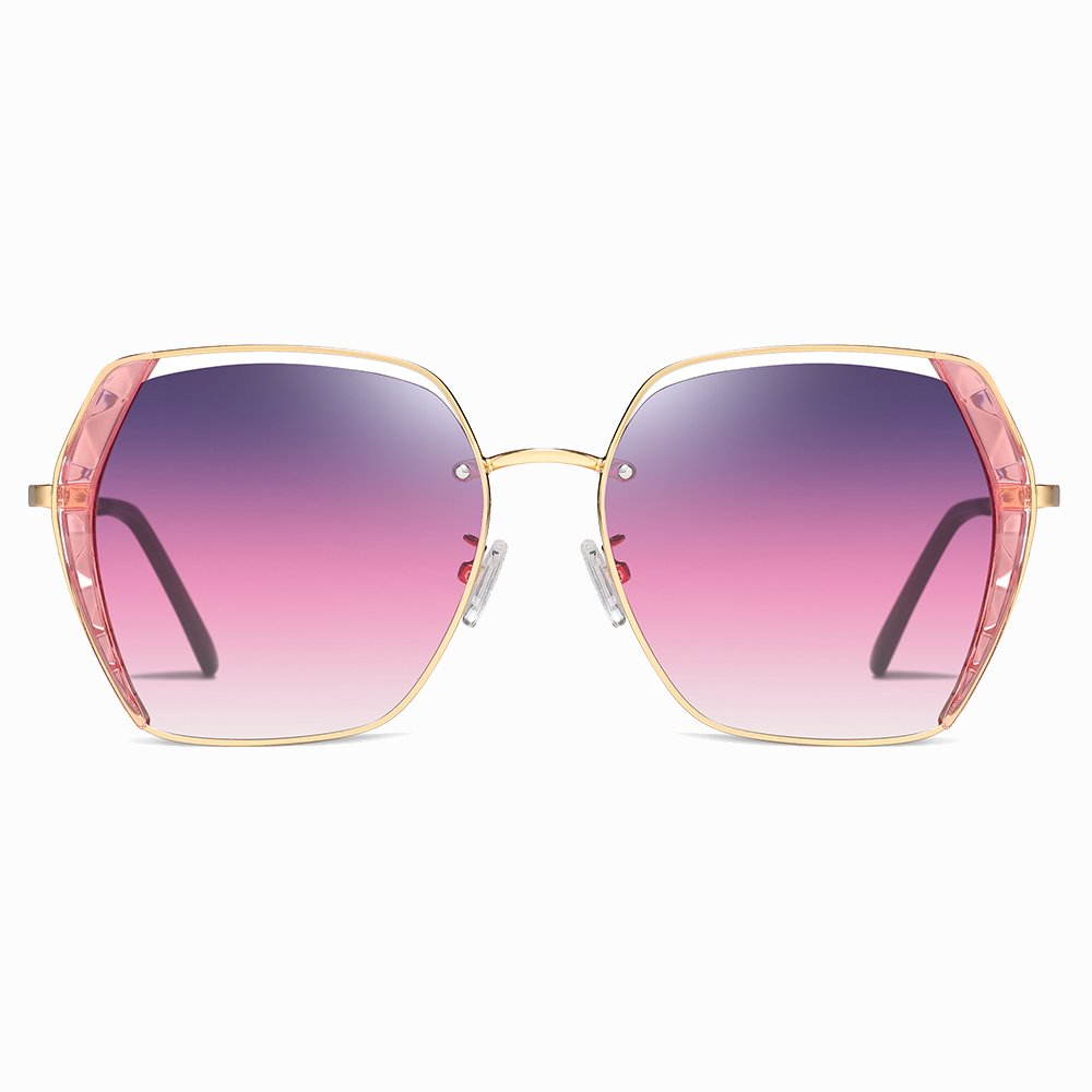 Pink Square Sunglasses for Women