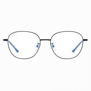 square wire frame eyeglasses for men