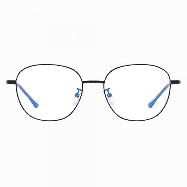 square wire frame eyeglasses for men