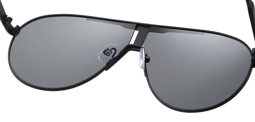 double bridge sunglasses with adjustable nose pad