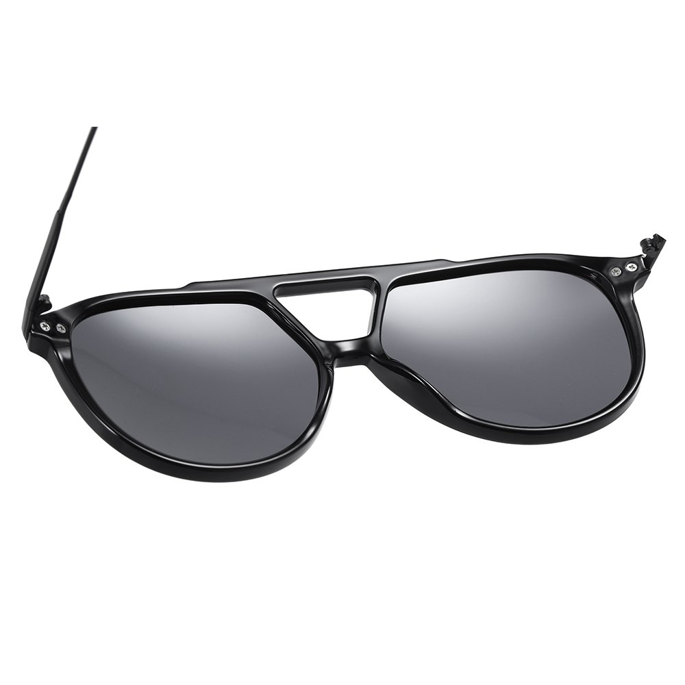 double bridge sunglasses frame with onepiece comfort nose pad