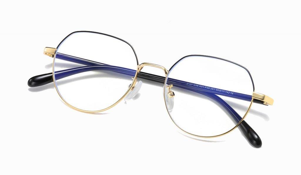 geometric eyeglasses for women men