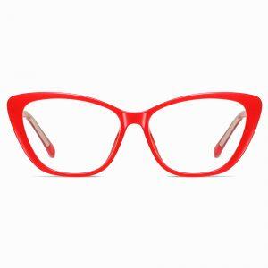Red Cat Eye Glasses