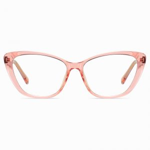 Pink Cat Eye Glasses